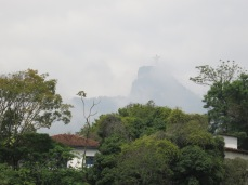 Vue de l'hostel Rio Nature