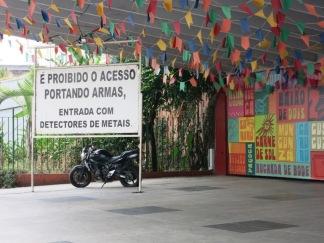Entrée de la Feria Nordeste