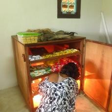 Séchage des savonnettes