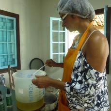 Préparation du savon