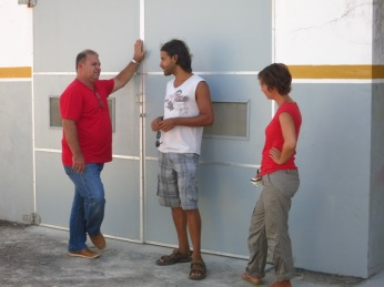 Jorge, Carlos et Caroline