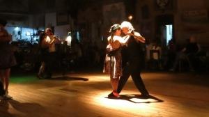 La Catedral del tango avec les professeurs Virginia Ravenna et Sandro Nunziata