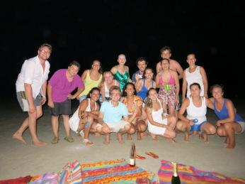 Nouvel an avec nos amis de Cascavel (sud du Brésil)
