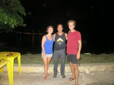 Avec Marcos à Ilheus