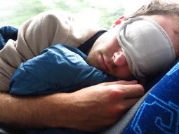 Une des quatre nuits passées dans le bus