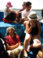 Bateau de Paranaguá à Ilha do Mel