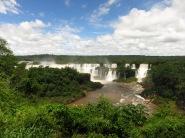 L'arrivée côté brésilien