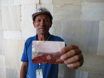 Juvenicio a travaillé 17 pour Itaipu