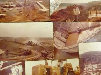 Photos prises par Juvenicio à l'époque de la construction
