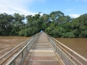 Traversée du fleuve Iguaçu