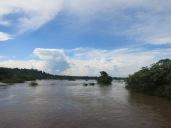 Le tranquille fleuve Iguaçu