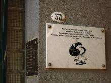 Ici vécu Mafaldaa