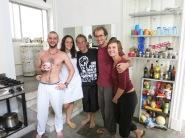 Yann, Maïté, Julien et nous