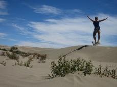 Dans le désert