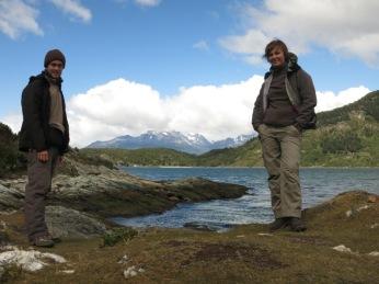 Caroline et Grégory dans le Parc national de la Terre de Feu