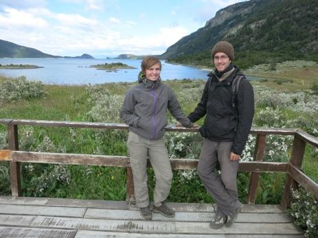 Caro et Greg au bout du monde