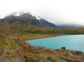Paine Grande et lac Pehoé