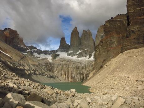 Torres del Paine : point culminant 2850 mètres