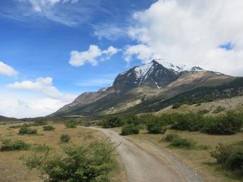 Le Paine Grande depuis l'entrée du parc
