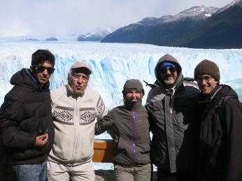 Avec une famille de Mendoza