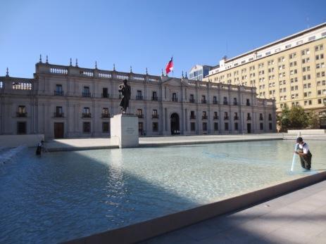 "Santiago - Palais présidentiel ""La Moneda"""