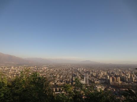 Vue de Bellavista - Santiago
