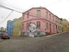 Oeuvre d'Ella et Pitr - Valparaiso