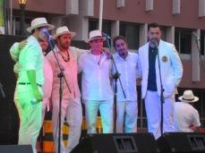 Notre hôte Marcus et son groupe de salsa brésilenne