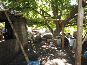 Construction d'un abri
