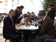 Joueurs d'échec - Santiago
