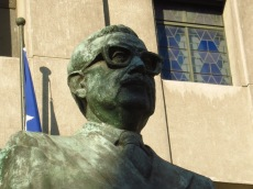 Statue de Salvador Allende - Santiago