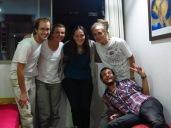 Caroline, Grégory, Maïté, Julien et Yann - Retrouvailles à Santiago