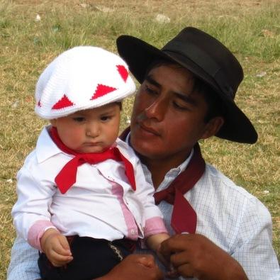 Gauchos au festival de Guachipas