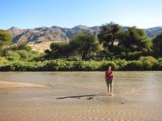 Apéro sur le rio vers Cachi