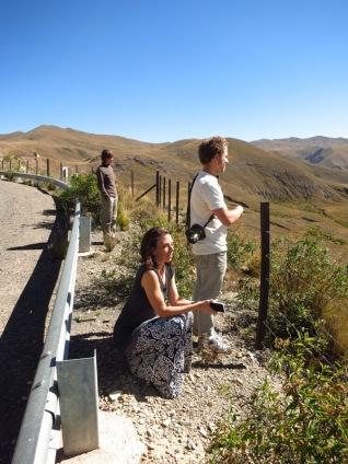 Sur la route avec Ted et Cecily