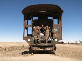 Cimetière des trains d'Uyuni