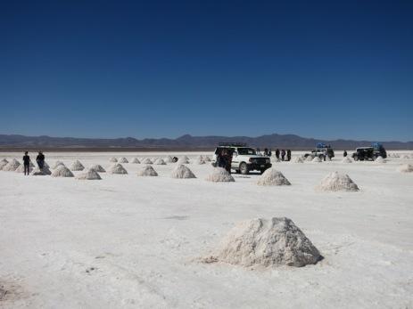 Pyramides de sel