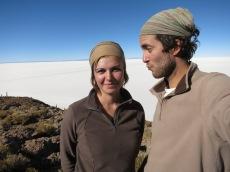 Caroline et Grégory sur l'île Ile d'Incahuasi