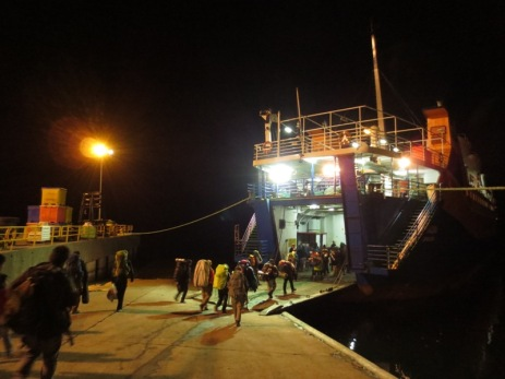 Ferry de nuit de Quellon à Chaiten