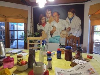 Juan Carlos et Margot nos hôtes à Rancagua retirant les dents de sagesse de Pinochet...