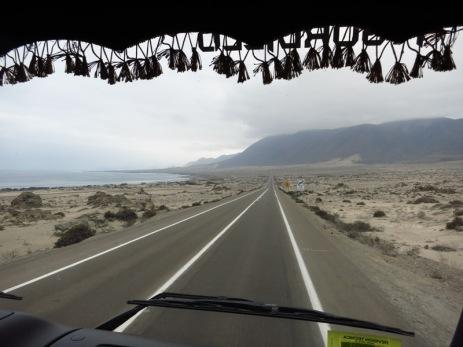 En stop le long de la côte pacifique