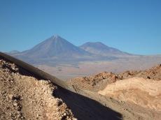Vallée de la Lune et volcan Licancabur