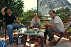 Avec Alex et Julia à El Carmen (photo : Julia)