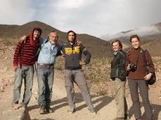 Alex, Rodolfo, Andrea, Caroline et Julia