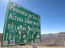 Un petit col à 4.000m
