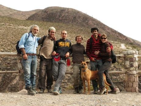 Rodlfo, Grégory, Andrea, Caroline, Alex et Julia