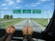 Sur la route de Buenos Aires