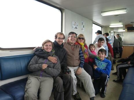 passage du détroit de Magellan avec la famille Panero