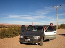 Avec Ted et Cecily vers Cachi