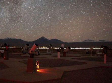La terrasse d'observation de Space chez Alain Maury